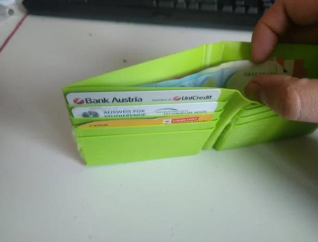 Parametric Wallet - Cool Things to 3D Print