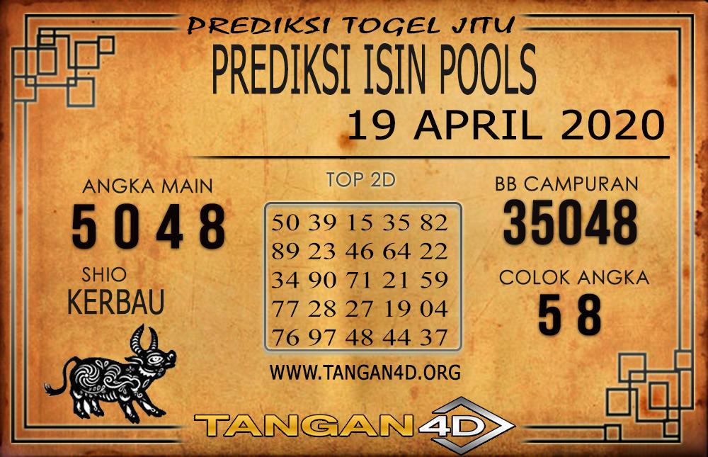 PREDIKSI TOGEL ISIN TANGAN4D 19 APRIL 2020