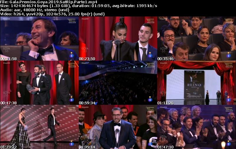 Ceremonia de los Premios Goya (2019)[SatRip][Castellano][VS]