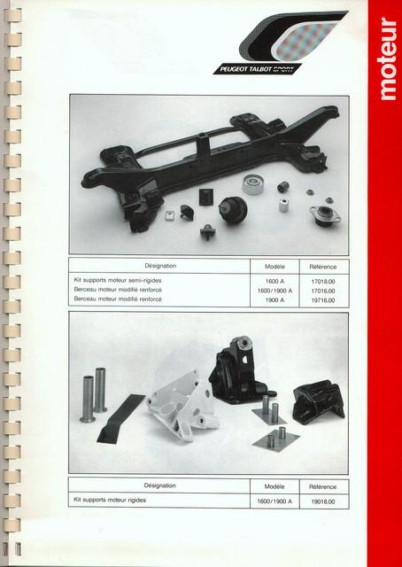Catalogue PTS pièces compétition - 205 GTI 1600-1900 gr. N/A PTS-Moteur-10