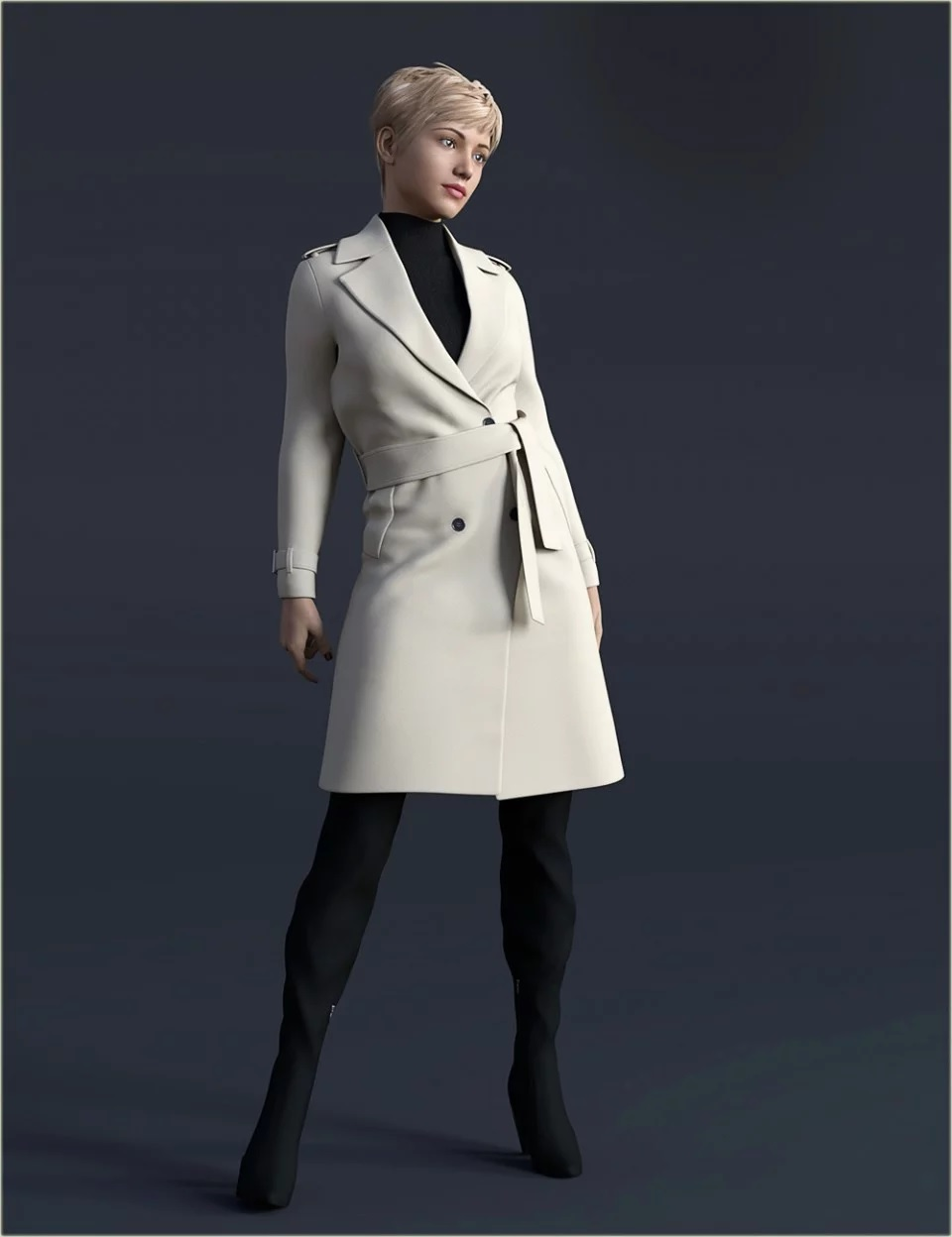 H&C Trench Coat Outfit for