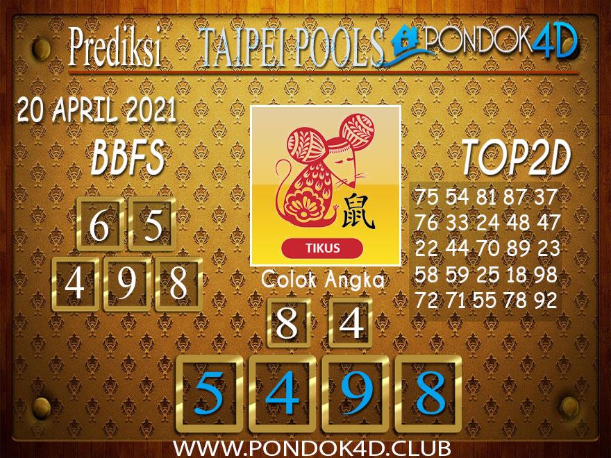Prediksi Togel TAIPEI PONDOK4D 20 APRIL 2021