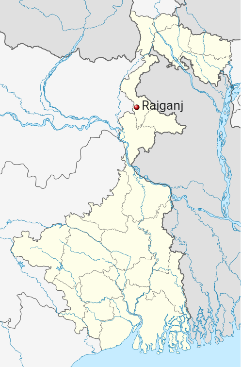 Raiganj Map