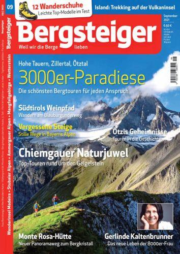 Cover: Bergsteiger Magazin No 09 September 2021
