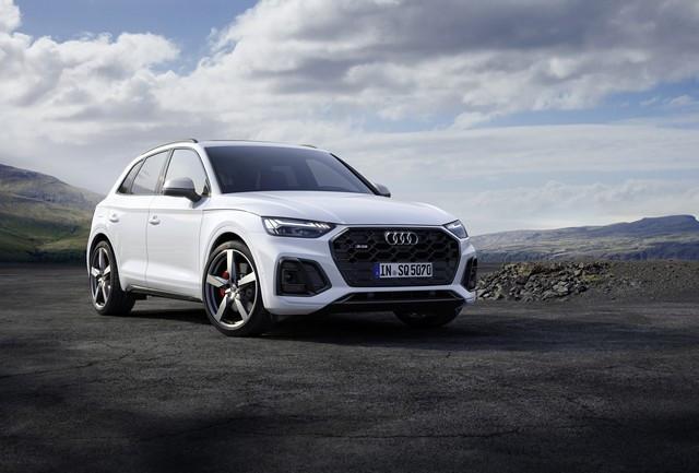 Sportivité, puissance et efficience : Audi présente la nouvelle génération de la SQ5 TDI A208360-medium