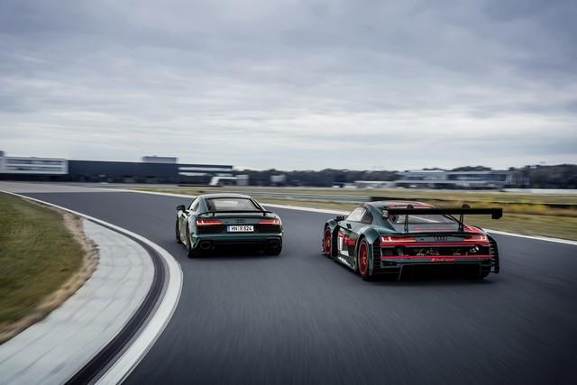 Audi R8 green hell : un hommage au palmarès de l'Audi R8 LMS A205752-medium
