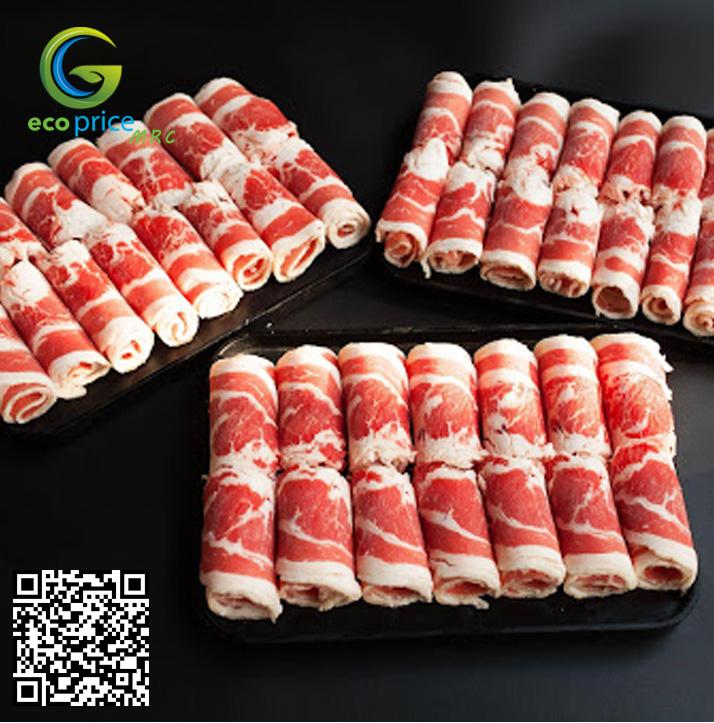 Thịt Ba Chỉ Bò Mỹ 500g