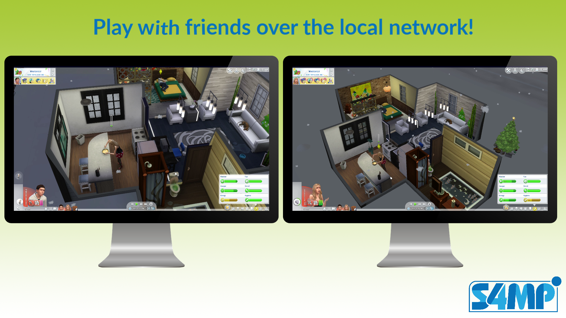 Sims 4 Multiplayer Mod / S4MP 0.7.1
