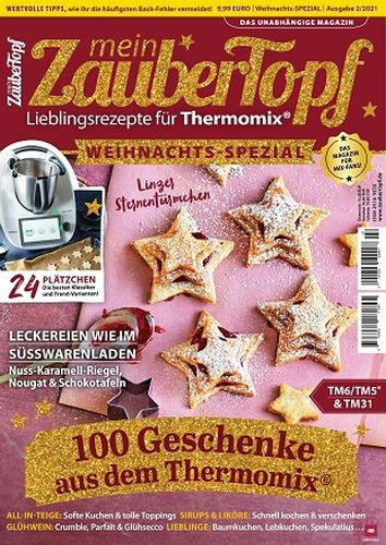 Cover: Mein Zaubertopf Magazin Weihnachts-Spezial No 02 2021