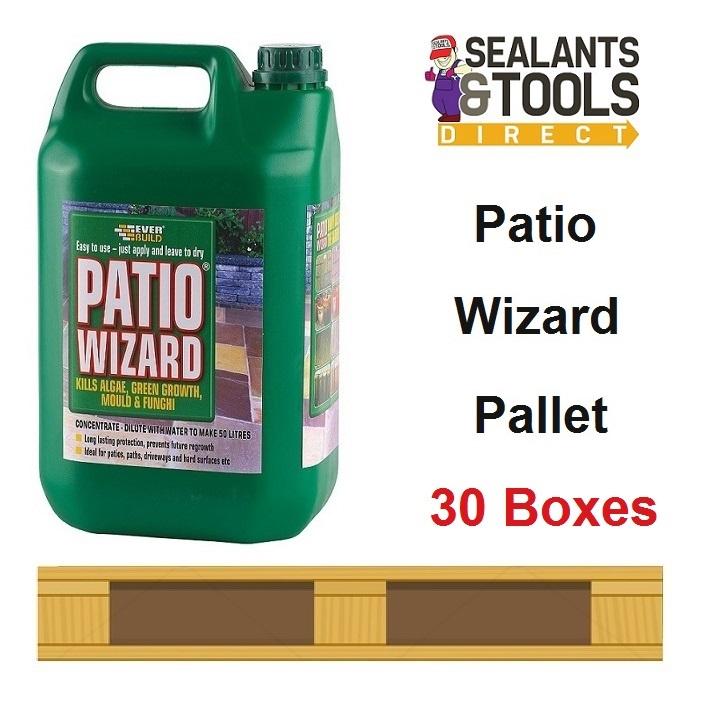 Everbuild Patio Wizard Concentrate 600 Litre 30 Box Pallet Deal