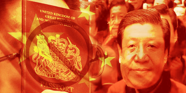 China Says They Will Stop Recognizing British Hong Kong Passports..