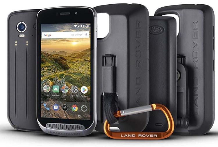 Телефоны Land Rover с противоударным корпусом защищенных по стандарту IP68/69K