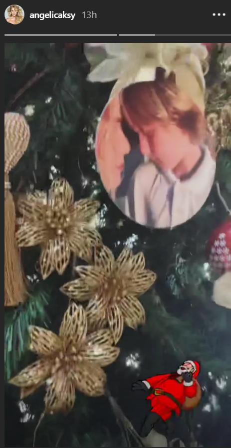 Em clima de Natal, Angélica mostra a decoração da sua árvore e detalhe chama atenção!