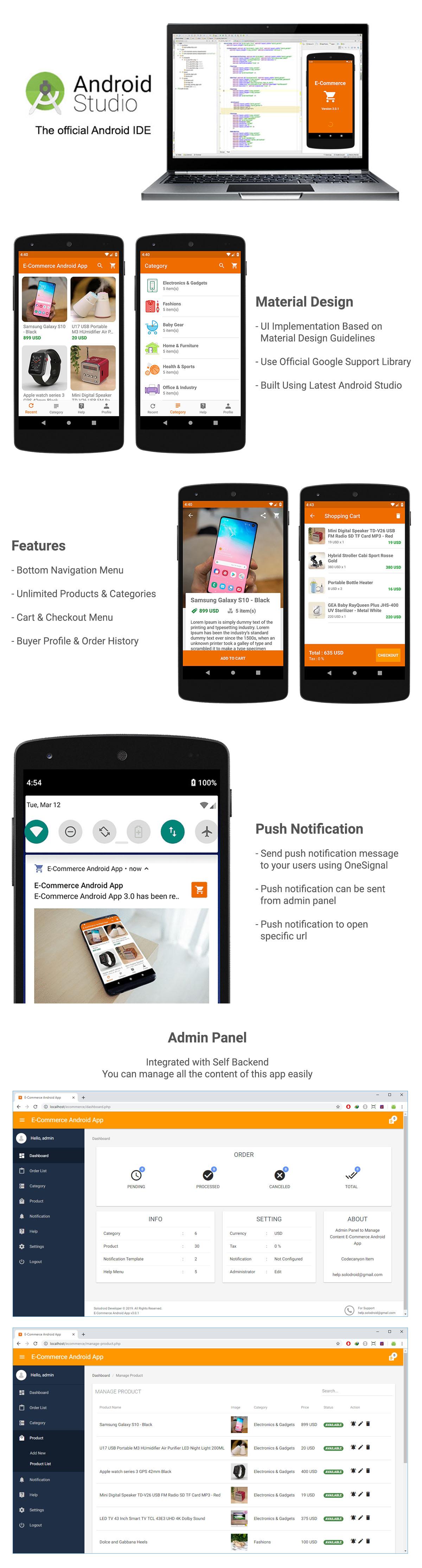 E-Commerce / Online Shop App - 3