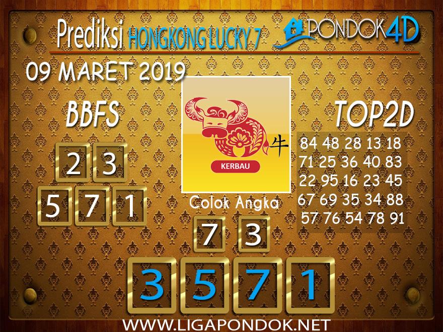 Prediksi Togel HONGKONG LUCKY 7  PONDOK4D 09 MARET 2019