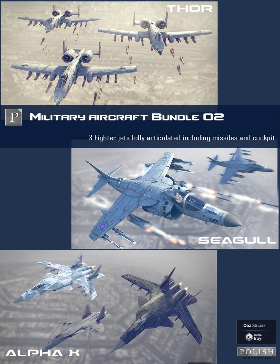 Military Aircraft Bundle 02