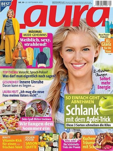 Cover: Laura Frauenmagazin No 39 vom 22  September 2021