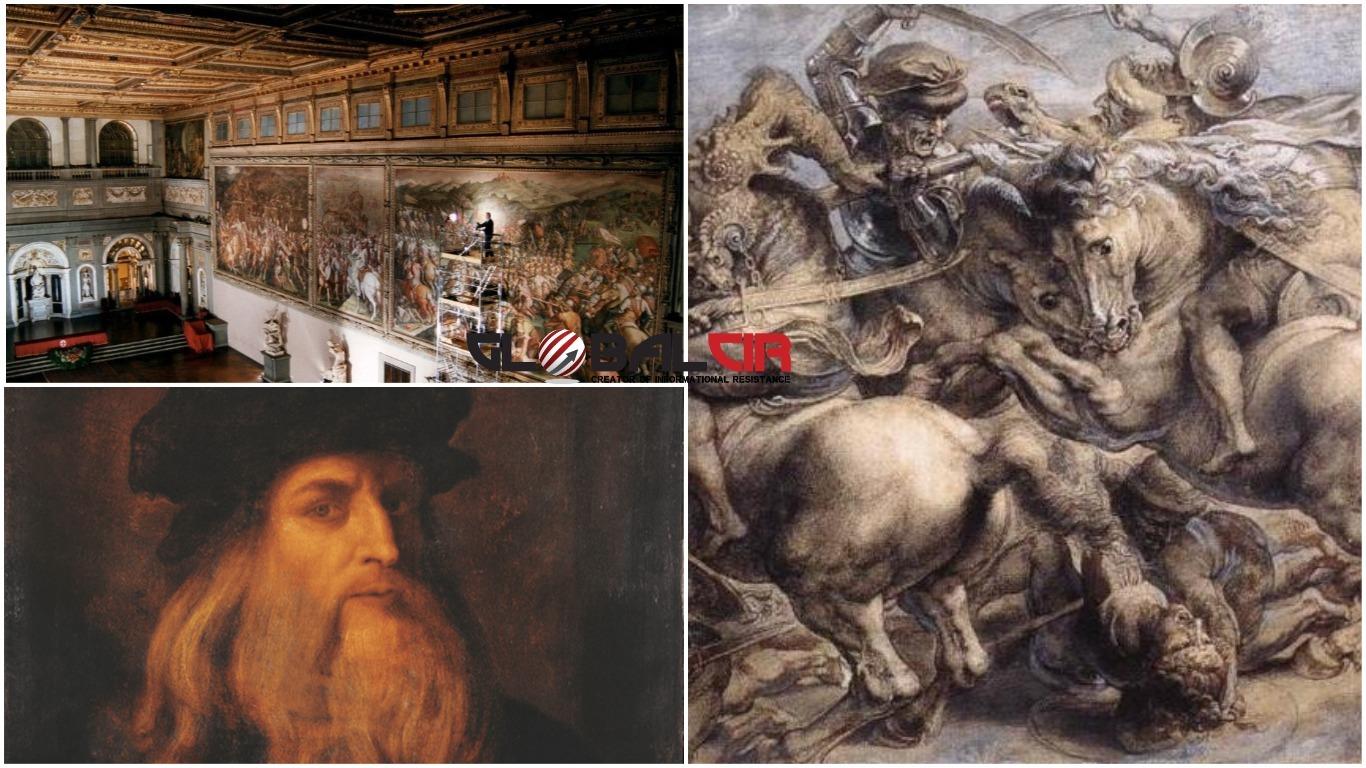 'BITKA KOD ANGHIARIJA': Stručnjaci zaključili da Leonardo da Vinci nije naslikao nedovršenu fresku u jednoj od glavnih dvorana firentinske Palazzo Vecchio!