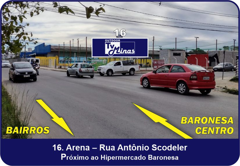Outdoor TV Minas - Arena