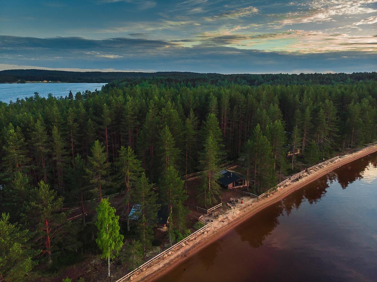 Отель KareliaVillage на Сямозере