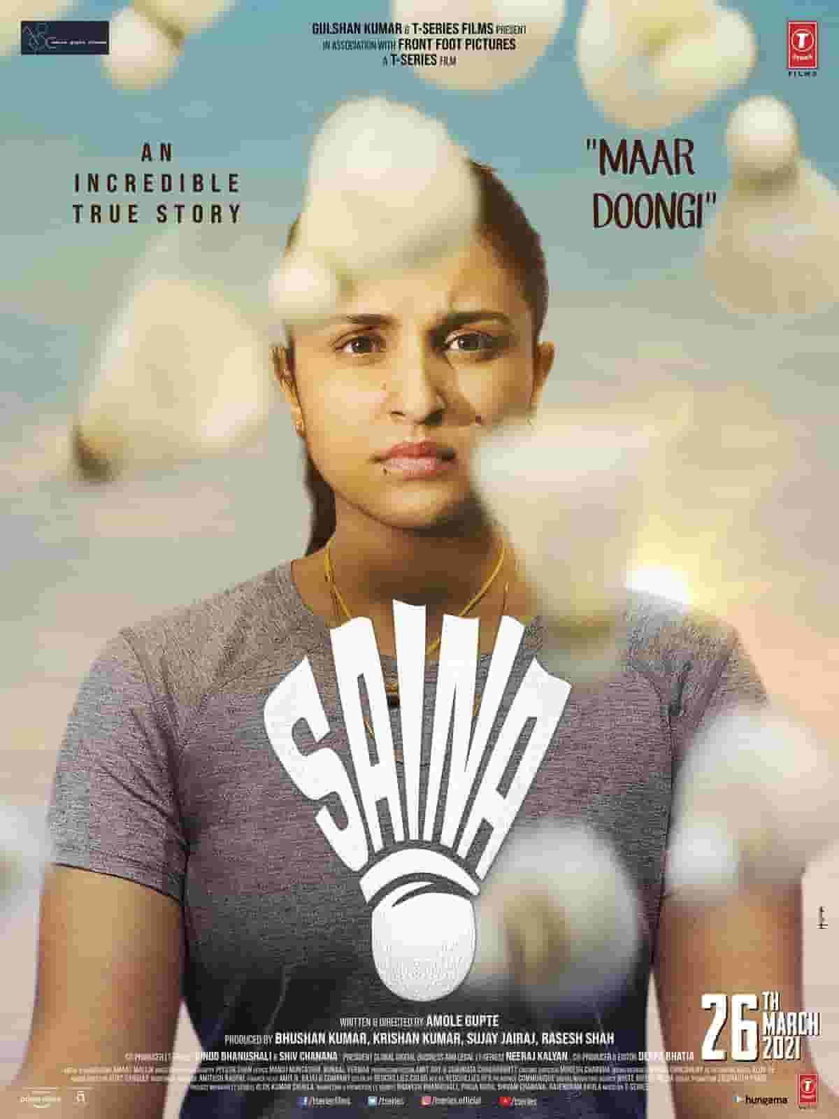 Saina (2021) Hindi Movie 720p HQ PreDVDRip AAC