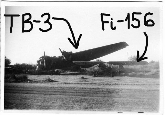 Orig-Foto-Luftwaffe-beute-Flugzeug-Fi-156-TB-3