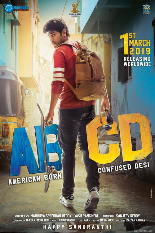 ABCD American-Born Confused Desi (2021) Hindi Dubbed Movie HDRip 720p AAC