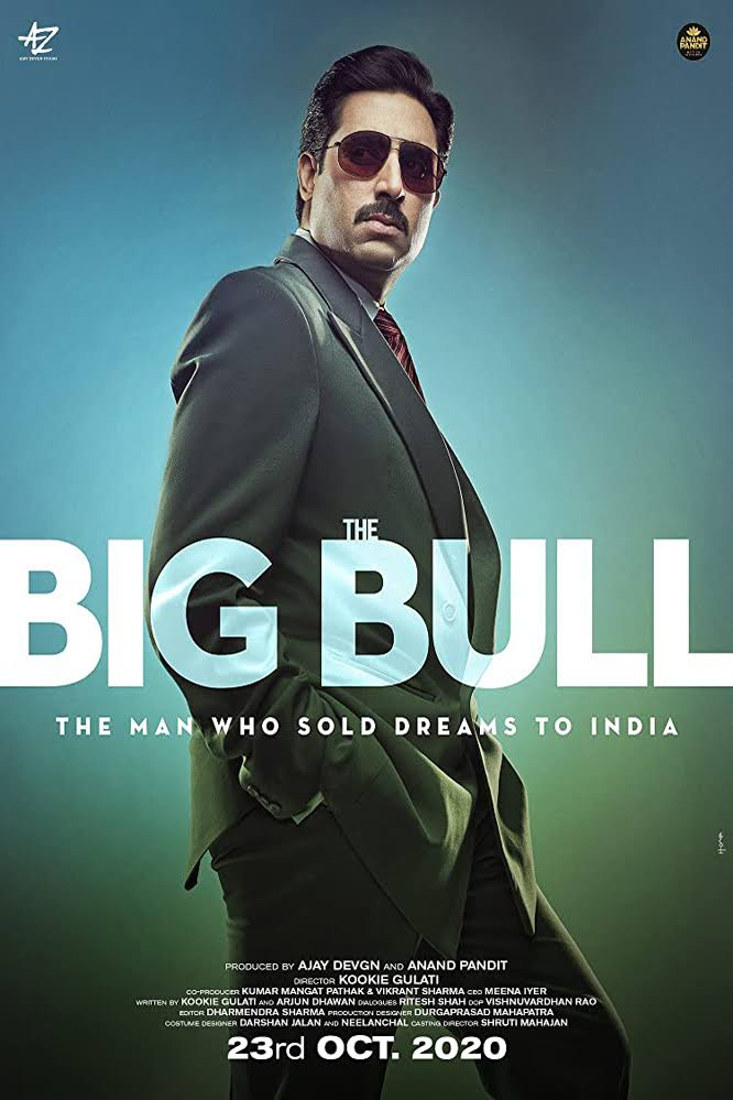 The Big Bull (2021) Hindi Movie 720p HDRip AAC