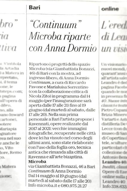 La-Repubblica-Bari-4-05-2021-Continuum