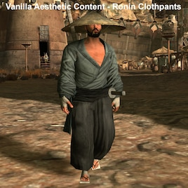 Vanilla Aesthetic Content - Ronin Clothpants