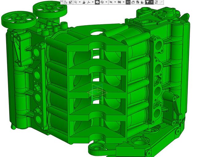ВАЗ-V8. Восьмицилиндровый из двух вазовских. V8-58