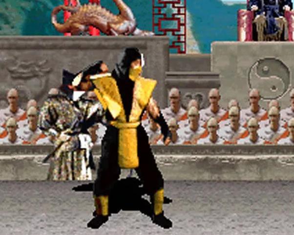 Scorpion (1992 Ver.)   Mortal Kombat   Minecraft Skin