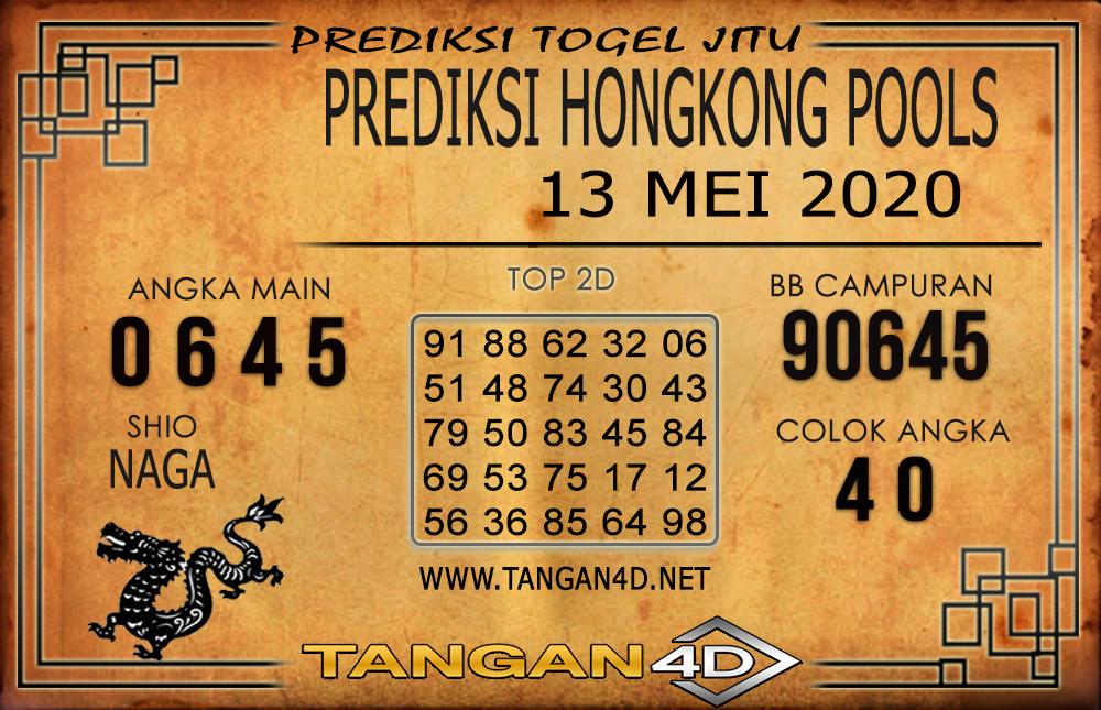 Prediksi Togel HONGKONG TANGAN4D 13 MEI 2020