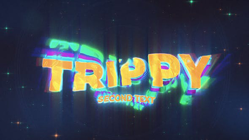 Trippy Wave Intro Logo & Title 30943496 - Project for After Effects (Videohive)