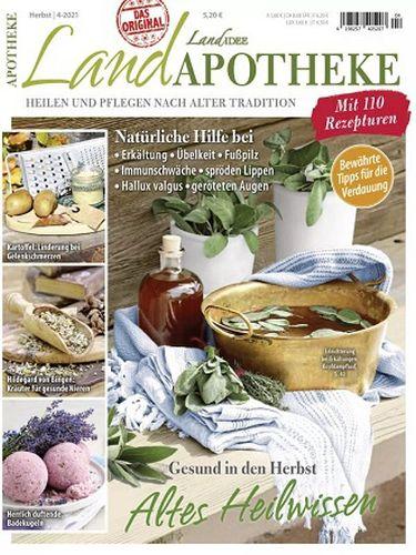Cover: Landidee Landapotheke Magazin No 04 Herbst 2021