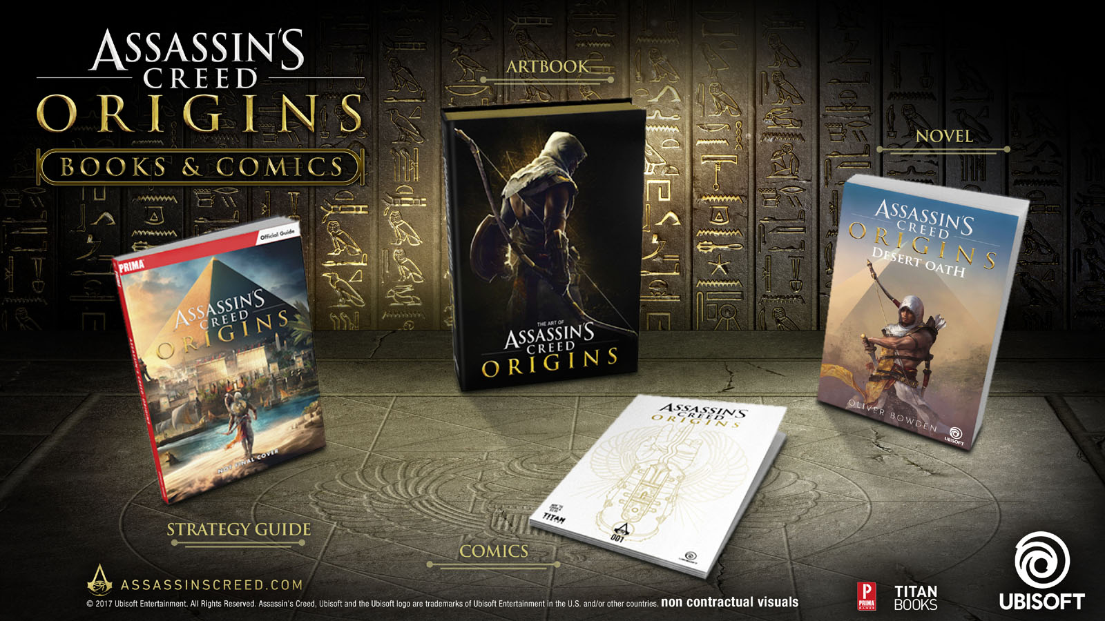 Assassin's Creed   Novel & Comic Series   All In One Ebooks1001