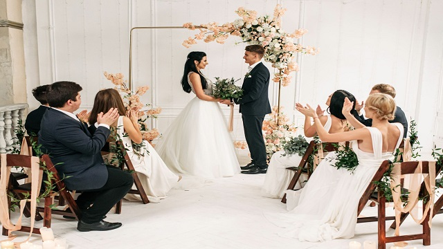 Would you be able to design a wedding in under a year?