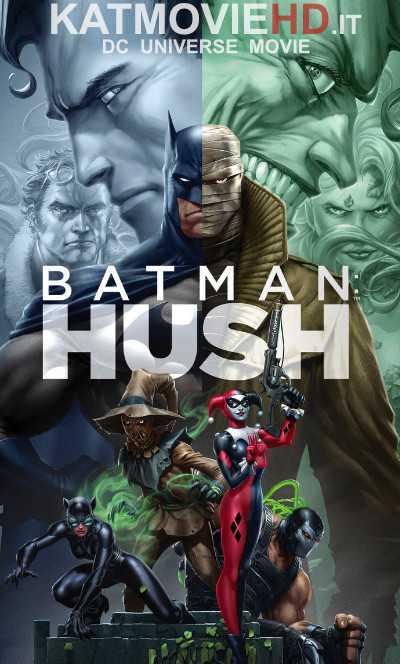 DC Batman: Hush (2019) 720p & 480p Web-DL x264 HD Batman Hush Full Movie Free Download On KatmovieHD