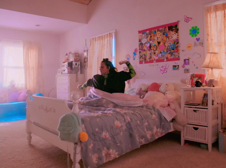 Marshmello & Demi Lovato - OK Not To Be OK - Music Video - 2020