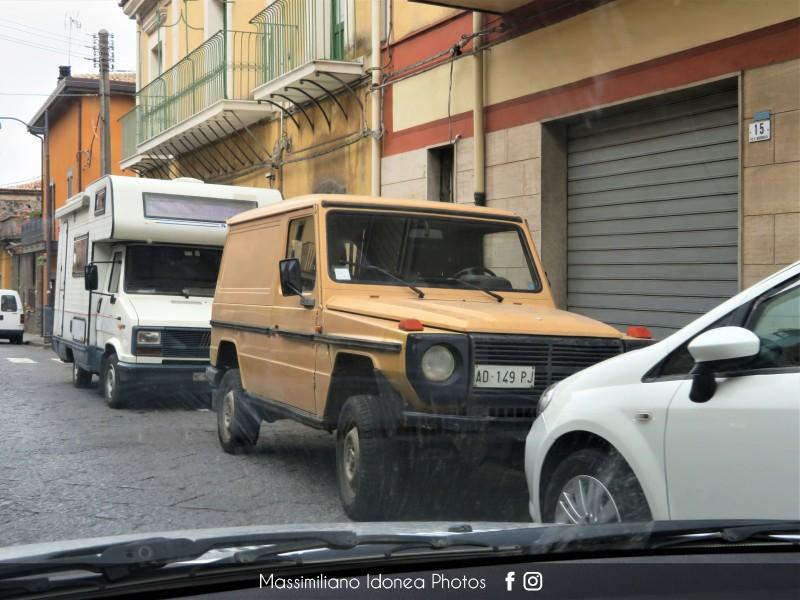 avvistamenti auto storiche - Pagina 31 Mercedes-W460-G-240-Diesel-2-4-71cv-82-AD149-PJ-1