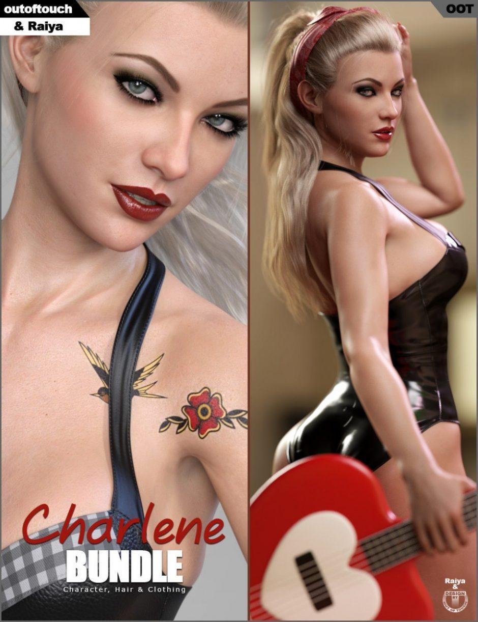 Charlene Character, Hair &