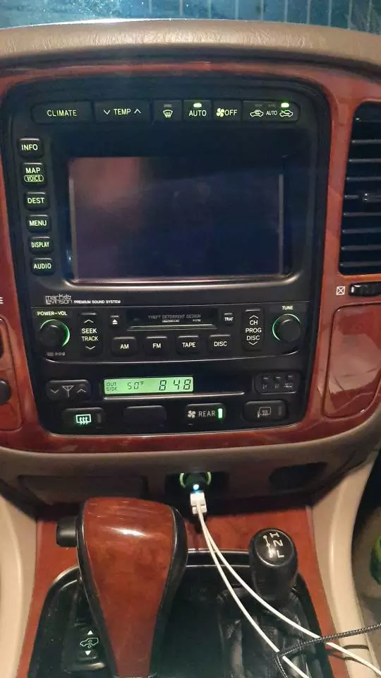 LC & LX470 Tesla Style Screen Radio Upgrade with Climate ...