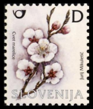 Slovenia stamps FRUIT-INSECT-1