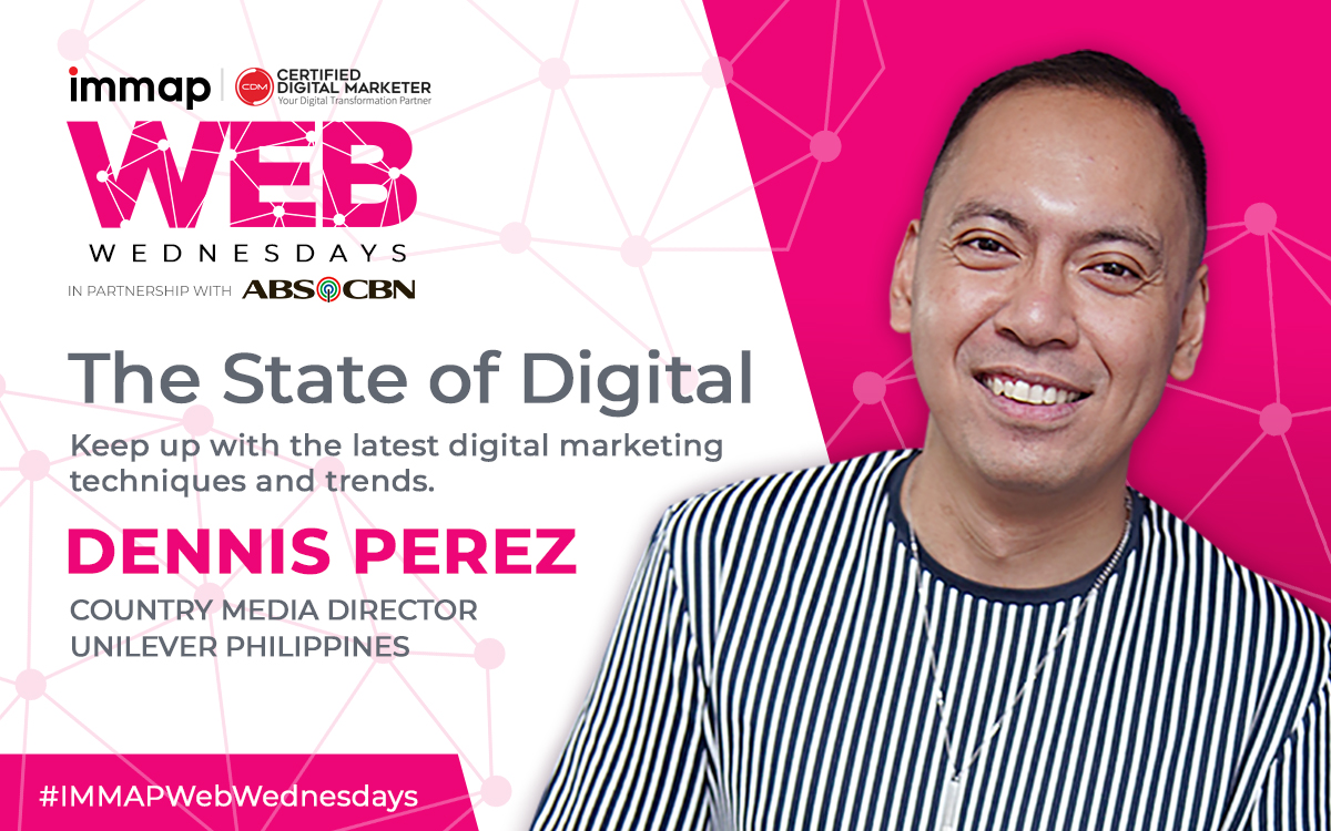 IMMAP X CDM Web Wednesdays is in partnership with ABS-CBN.