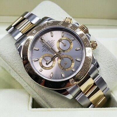 Rolex-Daytona-116523-Two-Tone-YG-Silver-Slate-dial-Bo