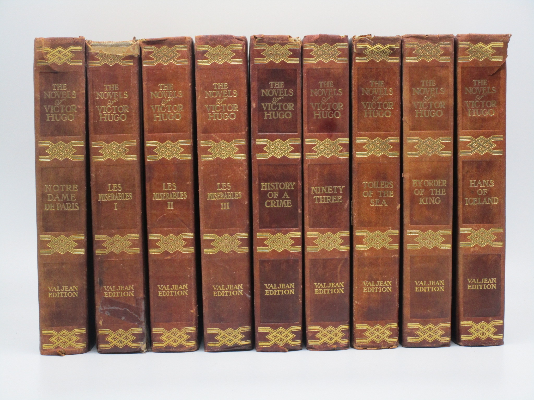 Image for The Valjean Edition of the Novels of Victor Hugo (9 volumes)