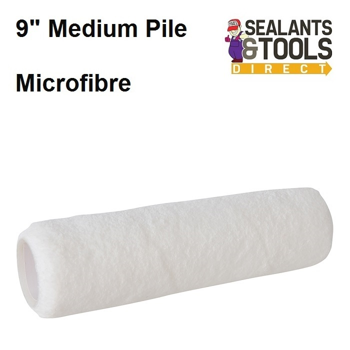 Silverline-Microfibre-Medium-Pile-Paint-Roller-Sleeve-873719