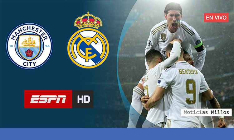 Manchester City Vs Real Madrid EN VIVO ONLINE ESPN HD