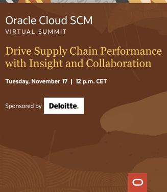 Oracle Cloud SCM