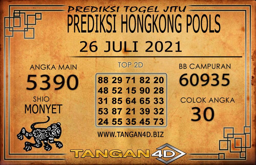 PREDIKSI TOGEL HONGKONG TANGAN4D 26 JULI 2021